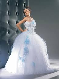 robe mariage bleu robe mariee bleu et blanche le de la mode