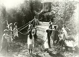 Let's all dance and frolic about the Maypole even though it's only March!