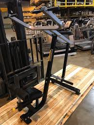 Powertec Leverage Bench Midwest Used Fitness Equipment Powertec Leverage Lat Pulldown