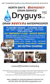 wet basement mould drain backup dry guys ca waterproofing