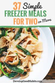 Side Dishes That Freeze Well 37 Simple Freezer Meals For Two Or More