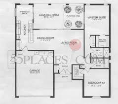 Timber Home Floor Plans by Oakmont Floorplan 1835 Sq Ft Timber Pines 55places Com