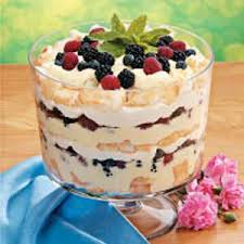 berry trifle recipe taste of home