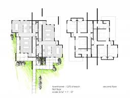 Low Cost Housing Floor Plans by Delightful Affordable House Plans Designs 3 Brunk Townhome Plans