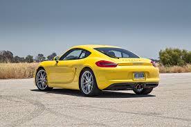 porsche cayman yellow 2014 porsche cayman s first test motor trend