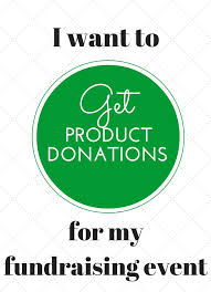 product donation request forms for fundraising it easy to