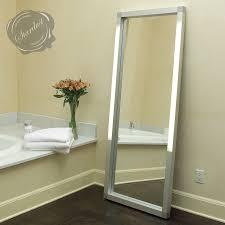 bathroom vanities mirrors and lighting mirrors led integrated lighted vanity mirror modern interior