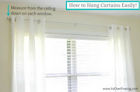 Merete Curtains Ikea Decor Curtain Reveal How To Hang Curtain Rods Its Overflowing