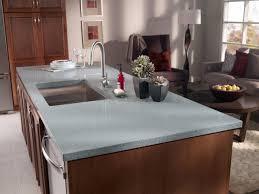 Modern Luxury Kitchen With Granite Countertop Furniture Mesmerizing Corian Vs Granite For Kitchen Decoration