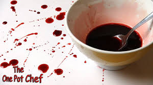 halloween chef quick tips fake blood for halloween one pot chef youtube
