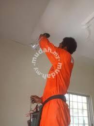 khidmat wiring dan pasang lampu kipas services available in