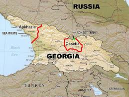 south ossetia map conflict 2008 background