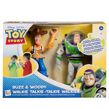 toy story buzz u0026 woody walkie talkie toys action figures