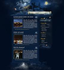 website design tutorial create a magic themed web design from scratch in photoshop