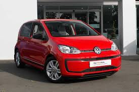 volkswagen red car used volkswagen up red for sale motors co uk