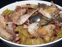 cuisine faisan faisan en nid de chou recette ptitchef