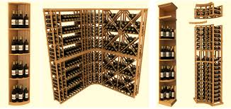 Wine Cellar Shelves - wonderful wine bottle storage rack modular wine cellar racks
