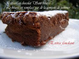 le journal de la femme cuisine fondant au chocolat sans beurre de la compote de pommes le