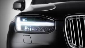 ferrari headlights the 2015 volvo xc90 headlights look like thor u0027s hammer