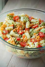 classic pasta salad pasta salad chopped carrots and italian