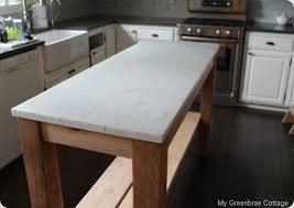 restoration hardware kitchen island my greenbrae cottage restoration hardware inspired island