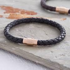 gold clasp leather bracelet images Man gold bracelet thecolorbars jpg