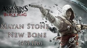 Ac4 Black Flag Ac4 Black Flag Mayan Stone New Bone 431 116 Youtube