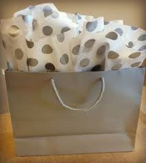 gift tissue paper pink green polka dot gift bags tissue paper raffia awesome