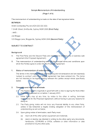 Written Notice Of Termination by Memorandum Of Understanding Sample Thebridgesummit Co
