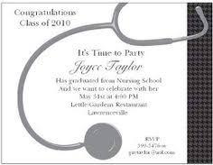 nursing graduation party invitations vertabox com