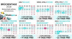 Kalender 2018 Hamburg Brückentage Presse Info Brückentage 2018 Die Extraportion Urlaub