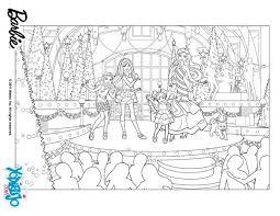 imagenes de navidad para colorear online dibujos para colorear show navideño de barbie es hellokids com