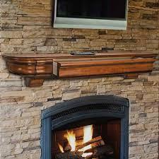 60 u0027 u0027 abingdon unfinished fireplace shelf by pearl mantels