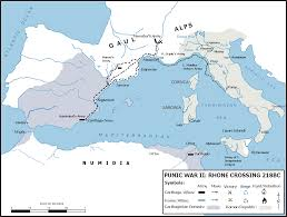 River Map Of Europe by Map Of The Western Mediterranean And Carthaginian Control Of