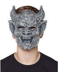brimstone mask laughing brimstone gargoyle half mask spirithalloween