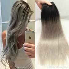 European Weave Hair Extensions by Cheap New Gray Hair Weave Ombre Gary Brazilian Hair Straight Gary