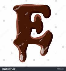 letter e latin alphabet numbers symbols stock vector 475163530