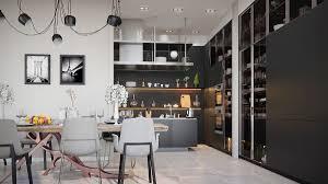 kitchen contemporary black kitchen decorations black kitchen