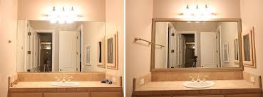 Bathroom Mirror Frame Kit Diy Bathroom Mirror Frame Kit Bathroom Mirrors Ideas