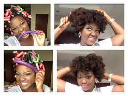 how to salvage flexi rod hairstyles how i use flexi rods bendy rollers on my natural hair youtube