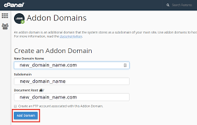 Dns Lookup How A Domain by How To Add An Addon Domain In Cpanel Inmotion Hosting