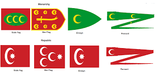 Ottoman Flags Ottoman Empire Ottoman Empire Pinterest Ottoman Empire