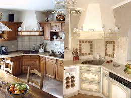 cuisine en chene repeinte repeindre des meubles de cuisine inspirations avec meuble cuisine