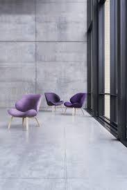 felt armchair eden by softline design busk hertzog chairs