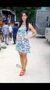 katrina kaif showcasing her toned legs in a floral short