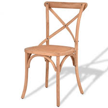 Cross Back Dining Chairs Rattan Cross Back Dining Chair Kitchen Dining Room Chairs