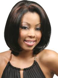 wigs short hairstyles round face medium length hairstyles for african american women with round
