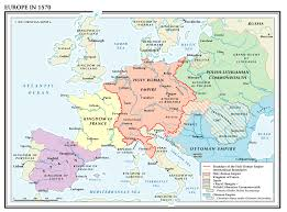 Europe 1939 Map by World History Maps