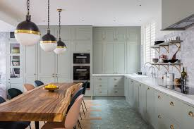 grey green kitchen cabinets grey green kitchen eclectic kitchen by