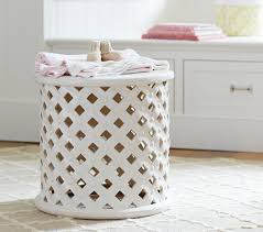 Drum Accent Table by Ceramic Side Table